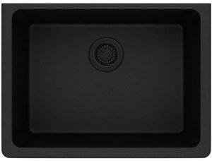 Elkay ELGU2522GY0 Quartz Classic Single Bowl Undermount Sink | 6 Best Stainless Scratch Resistant Kitchen Sinks Reviews