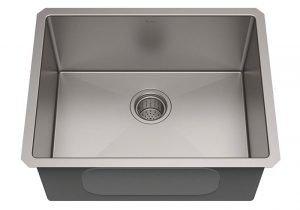 KRAUS Standart PRO 23 inch Undermount Single Bowl Stainless Steel Kitchen Sink KHU101 23 | 6 Best Stainless Scratch Resistant Kitchen Sinks Reviews
