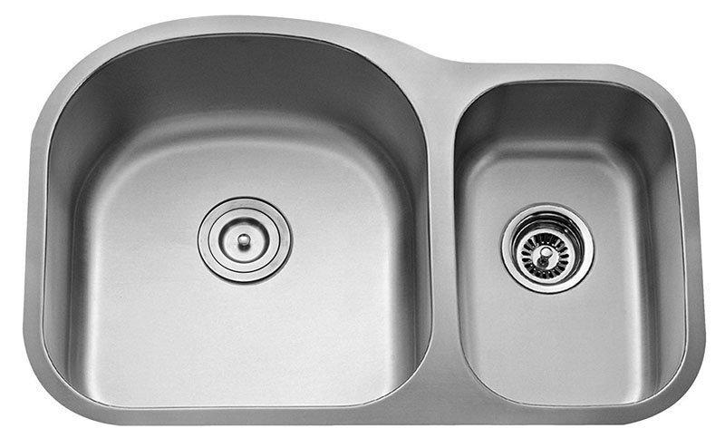 Kraus KHU100-30-KPF1612-KSD30SS 30 Undermount Single Bowl Stainless Steel Kitchen Sink