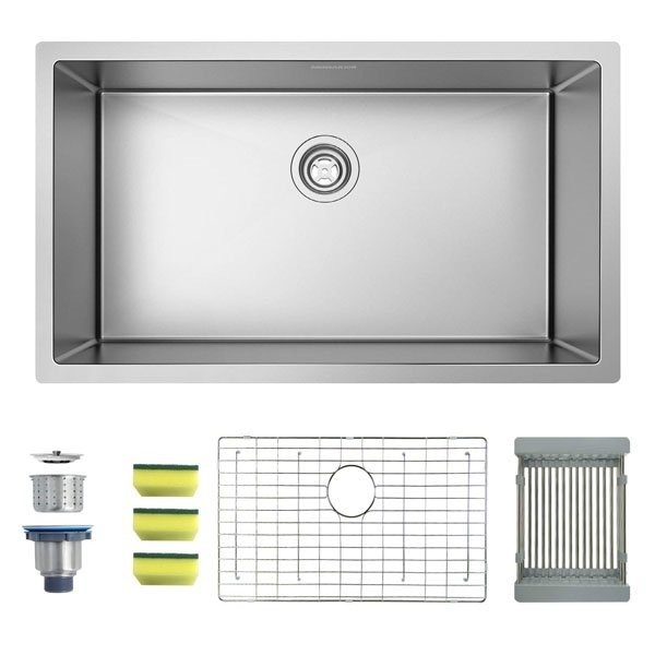 MENSARJOR Undermount Stainless Steel Kitchen Sink