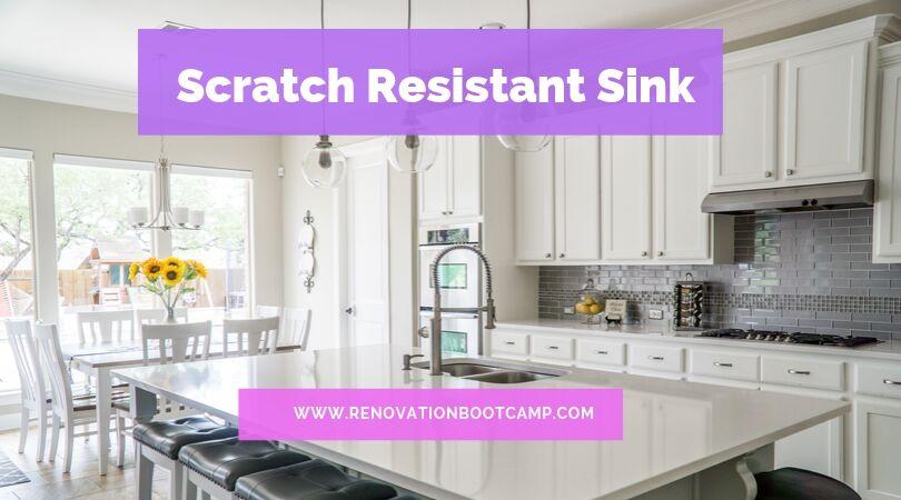 Scratch Resistant Sink