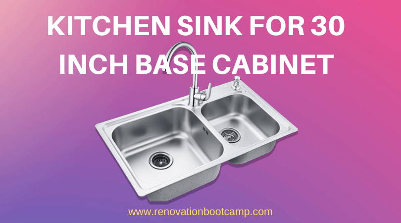 Kitchen Sink for 30 Inch Base Cabinet
