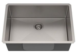 Kraus Undermount Single Bowl Stainless Scratch Resistant Kitchen Sink