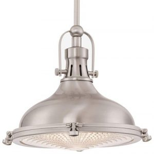 Kira Home Beacon 11″ Industrial Farmhouse Pendant Light
