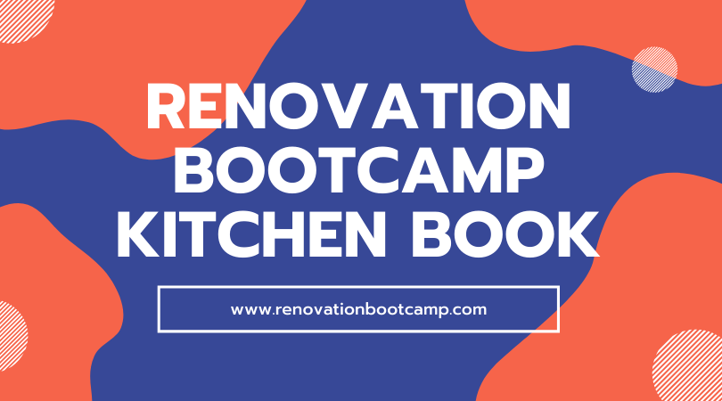 renovation bootcamp kitchen book