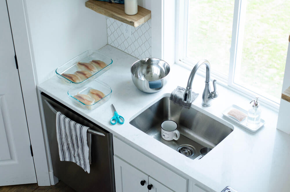 Stainless Scratch Resistant kitchen sink1
