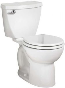 American Standard 270BB001.020 Cadet 3 Right Height Round Front Two Piece Toilet With 10-Inch Rough-in