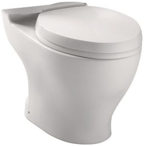 Toto CT412F.10No.01 Aquia Dual Flush Elongated Toilet Bowl with 10 inch Rough-in