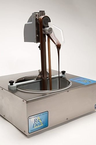Choco Vision Skimmer Dispensing Attachment for Delta Chocolate Tempering Machine