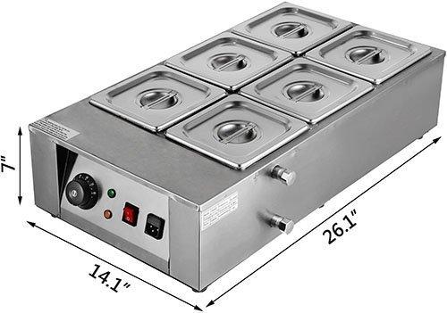 Vevor Electric Chocolate Melting Pot Machine