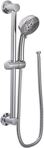 Moen 3669EP Chrome Handheld shower Slide Bar