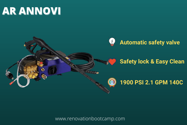 AR Annovi Reverberi 2000 PSI Hot Pressure Washer