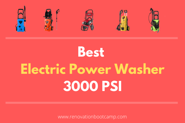 Electric Power Washer 3000 PSI