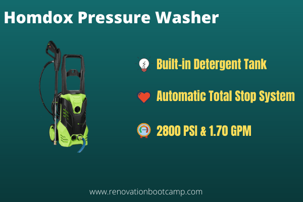 Homdox 2880 PSI Pressure Washer
