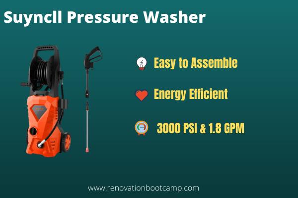 Suyncll Pressure Washer