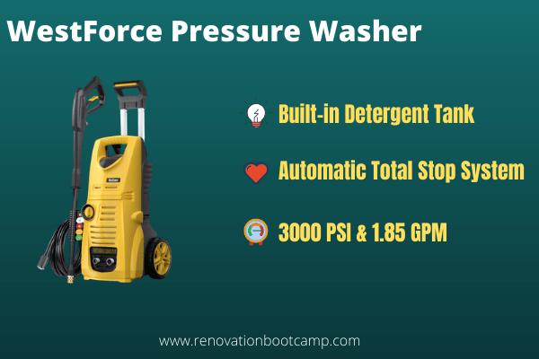 WestForce Pressure Washer