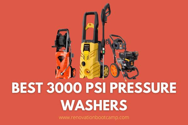 Best 3000 PSI Pressure Washers