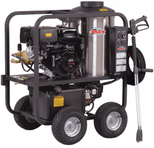 Shark SGP-353037Honda 3000 PSI Gas Powered Hot Water Commercial Pressure Washer