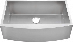 Comllen Commercial 33 Inch Handmade Stainless Steel Sink