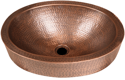 Monarch Pure Copper Hand Hammered Skirted Sink indiaurbanportal | 9 Best Copper Sinks 2021 Experts Review BootCamp