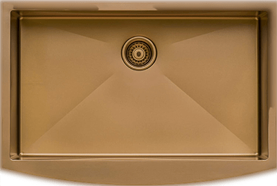Ruvati Copper Tone 36 inch Apron Front Farmhouse Kitchen Sink indiaurbanportal | 9 Best Copper Sinks 2021 Experts Review BootCamp