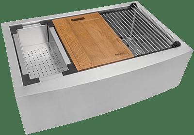 Ruvati Verona RVH9300 bootcampl | Best Sink for Butcher Block Countertop 2021