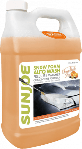 Sun Joe SPX-FCS1G-CRM Premium Snow Foam Orange-Vanilla Scent Car Wash Soap & Cleaner, 1 Gallon